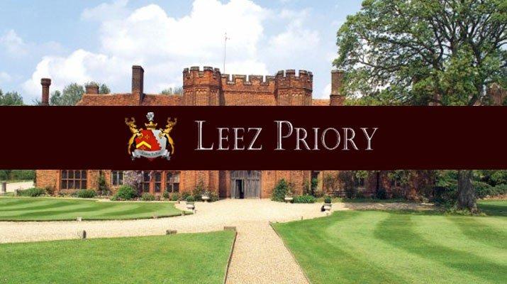 Leez Priory Logo